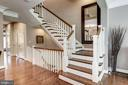 Staircase - 10888 SYMPHONY PARK DR, NORTH BETHESDA