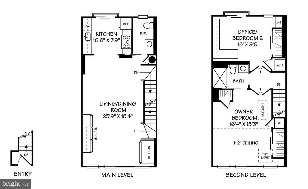 Floor Plan - 1501 VERMONT AVE NW #3, WASHINGTON