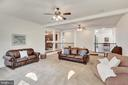 Family room (reverse angle). - 38 PRESIDENTIAL LN, STAFFORD