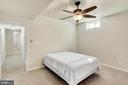 Basement guest room #1 (16'-0