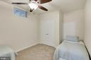 Basement guest room #2 (11'-6