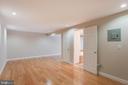 Lower level Recreation Room or Bedroom - 8 FULLVIEW CT, GAITHERSBURG