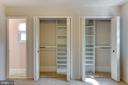 Master Bedroom with lots of Closet space - 8 FULLVIEW CT, GAITHERSBURG
