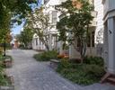 Courtyard entry - 2086 N OAKLAND ST, ARLINGTON