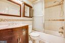 Master Bathroom - 4419 PEMBROOK VILLAGE DR #97, ALEXANDRIA
