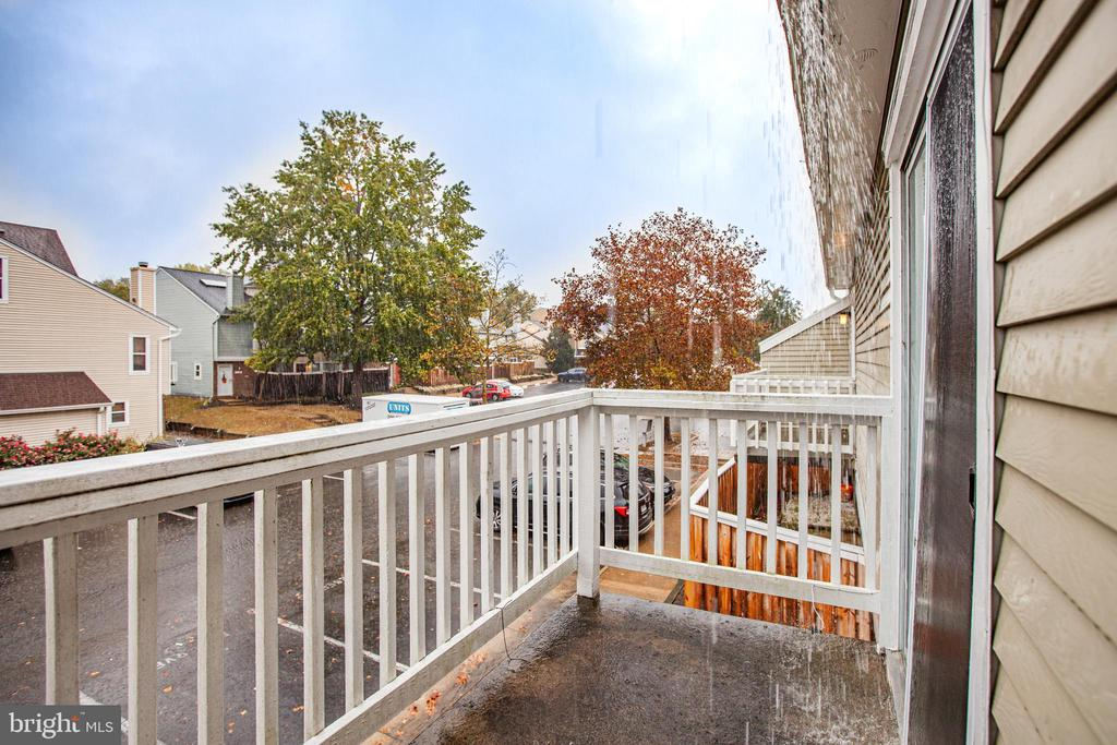 Balcony View - 4419 PEMBROOK VILLAGE DR #97, ALEXANDRIA
