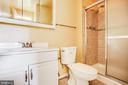 Second full Bathroom - 4419 PEMBROOK VILLAGE DR #97, ALEXANDRIA