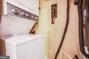 Laundry - 4419 PEMBROOK VILLAGE DR #97, ALEXANDRIA