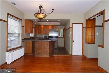Open concept kitchen with updated kitchen. - 235 N BARTON ST, ARLINGTON