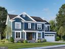 Rendering of Home Under Construction - 1937 N CULPEPER ST, ARLINGTON