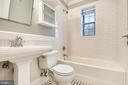 Updated Bathroom Retains Classic Flooring - 820-A S WASHINGTON ST #329, ALEXANDRIA