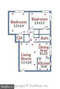 Floor Plan - 820-A S WASHINGTON ST #329, ALEXANDRIA