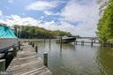 Private pier has room for two boats - 3057 RUNDELAC RD, ANNAPOLIS