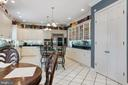 Kitchen with informal dining space - 3057 RUNDELAC RD, ANNAPOLIS