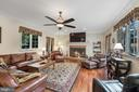 Family room at the center of the main level - 3057 RUNDELAC RD, ANNAPOLIS