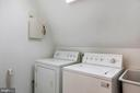 Upper level has a laundry center - 3057 RUNDELAC RD, ANNAPOLIS