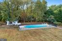 Aerial view of the pool and cabana - 3057 RUNDELAC RD, ANNAPOLIS