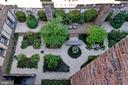 Garden View from master bedroom - 3041 SEDGWICK ST NW #503-D, WASHINGTON