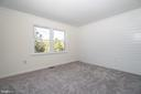 Master Bedroom with Great Backyard View - 14 BRYANT BLVD, STAFFORD