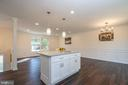 Kitchen Island between Living, Dining, & Kitchen - 14 BRYANT BLVD, STAFFORD