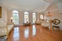 Stunning Light filled  Formal Living Room - 43809 BENT CREEK TER, LEESBURG