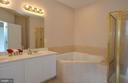 Lux Master Bath - 43809 BENT CREEK TER, LEESBURG