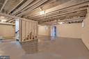 Basement - unfinished - 2704 GAITHER ST, TEMPLE HILLS