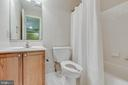 Full bathroom in lower level - 21825 FORMOSA SQ, STERLING