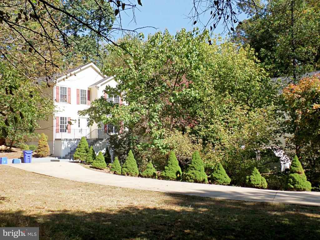 BEAUTIFUL LONG DRIVEWAY CAN TAKE MORE THAN 10 CARS - 900 ROSEMERE AVE, SILVER SPRING