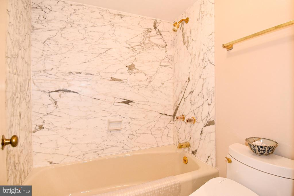 Master Bath - Soaking Tub with Carrara Marble - 1101 S ARLINGTON RIDGE RD #903, ARLINGTON