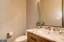 Powder rm w/ Restoration Hardware vanity & mirror - 932 DEAD RUN DR, MCLEAN
