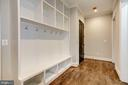 Mudroom with plenty of built-ins - 932 DEAD RUN DR, MCLEAN