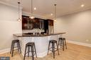 Bar with counter seating - 932 DEAD RUN DR, MCLEAN