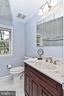 Upper Level Hall Bath  - Fully Renovated - 2501 DREXEL ST, VIENNA
