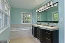 Master Bathroom - Fully Renovated - 2501 DREXEL ST, VIENNA