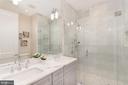 Master bath - 448 M ST NW #1, WASHINGTON