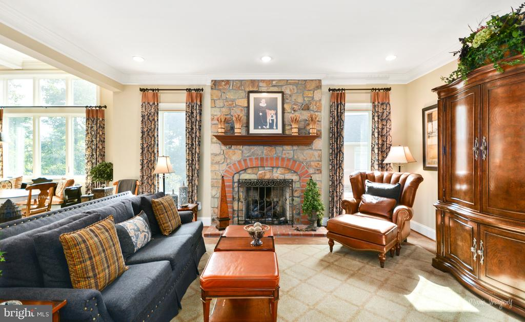 Family room - 2662 MONOCACY FORD RD, FREDERICK