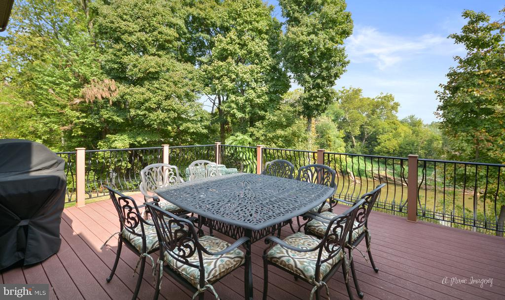 Upper Level Deck - 2662 MONOCACY FORD RD, FREDERICK