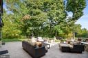 Lower Level Back Patio - 2662 MONOCACY FORD RD, FREDERICK