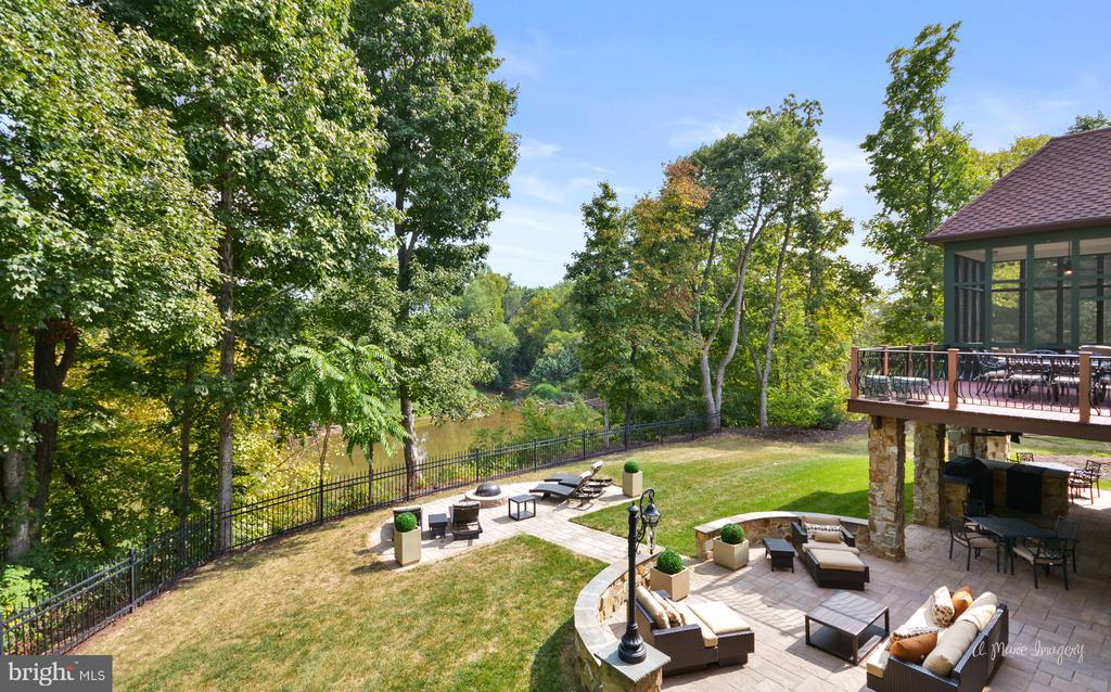 View of Backyard from Owners Suite - 2662 MONOCACY FORD RD, FREDERICK