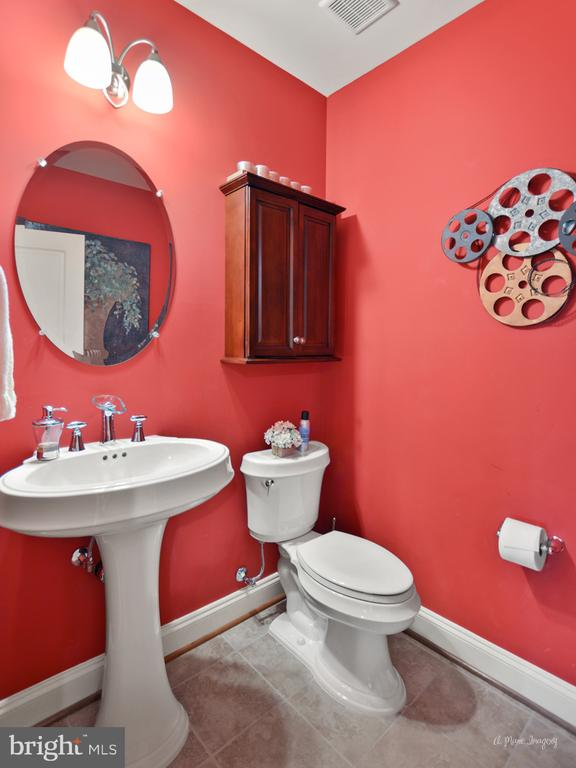 Lower Level Half Bath - 2662 MONOCACY FORD RD, FREDERICK
