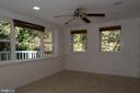 Large Windows w/ Views of Rear Yard and Deck - 7308 FRANKLIN RD, ANNANDALE