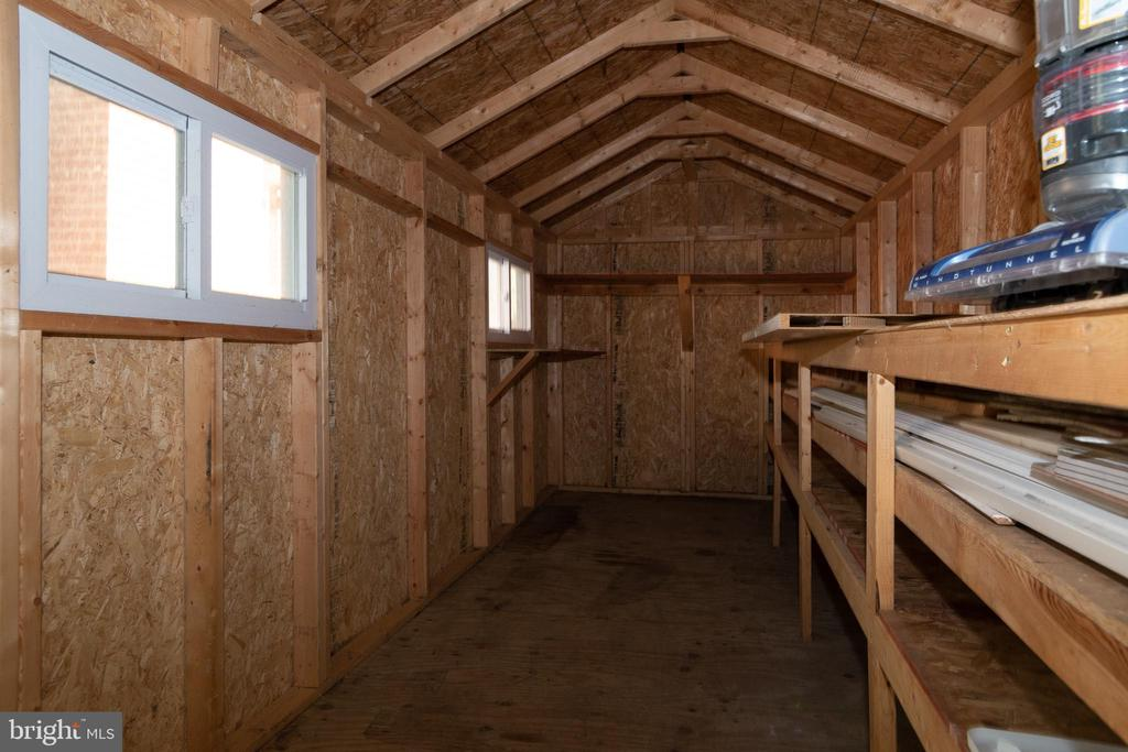 Interior of Rear Shed - 7308 FRANKLIN RD, ANNANDALE