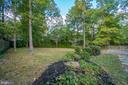 Fully fenced rear yard - 3822 KING ARTHUR RD, ANNANDALE