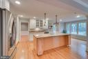 Gourmet Kitchen with table space - 3822 KING ARTHUR RD, ANNANDALE
