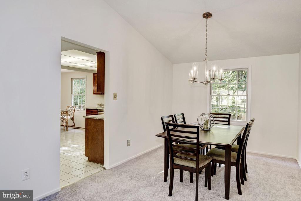 Formal dining room. - 1209 GOTH LN, SILVER SPRING