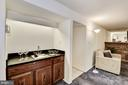 Family room wet bar. - 1209 GOTH LN, SILVER SPRING