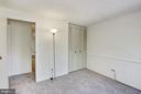 Bedroom #2 closet - 1209 GOTH LN, SILVER SPRING