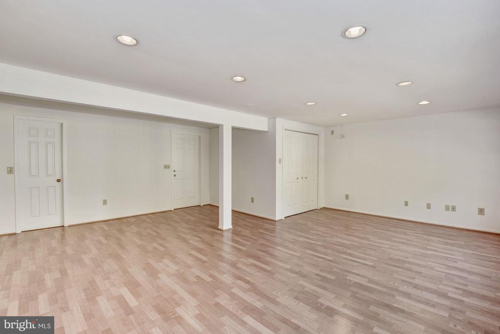Bonus room #1 with laminate floors and big closet. - 1209 GOTH LN, SILVER SPRING