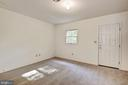 Bonus room #2 with door to backyard. - 1209 GOTH LN, SILVER SPRING